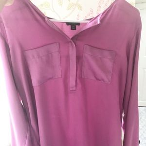 long sleeve Ann Taylor blouse